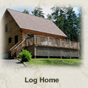 Bar Harbor Vacation Rentals - Log Home - Bar Harbor Oceanfront Vacation Rental Home