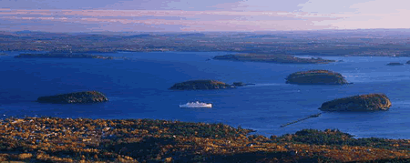 Bar Harbor Vacation Rentals - View of Porcupine Islands