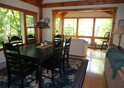 Post n Beam dining room