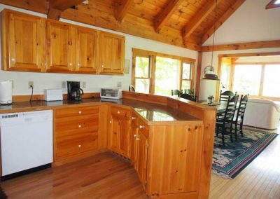 Post n Beam kitchen