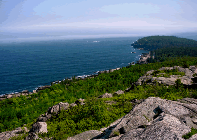 Acadia from Gorham mountain